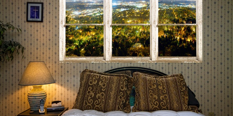 picture window frame city lights fine art photography - Window Frame Art
