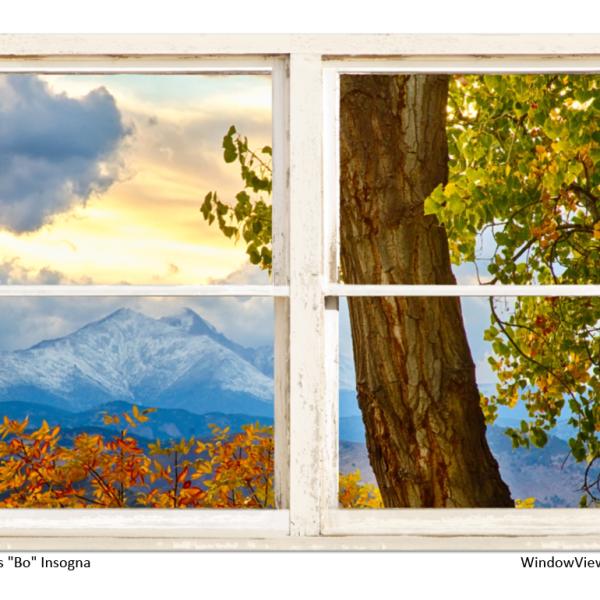 longs peak window views