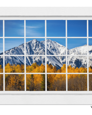 Picture window Colorado Mountain Views
