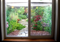 Decorative Window Well Liners - Over 24 decorative scenes