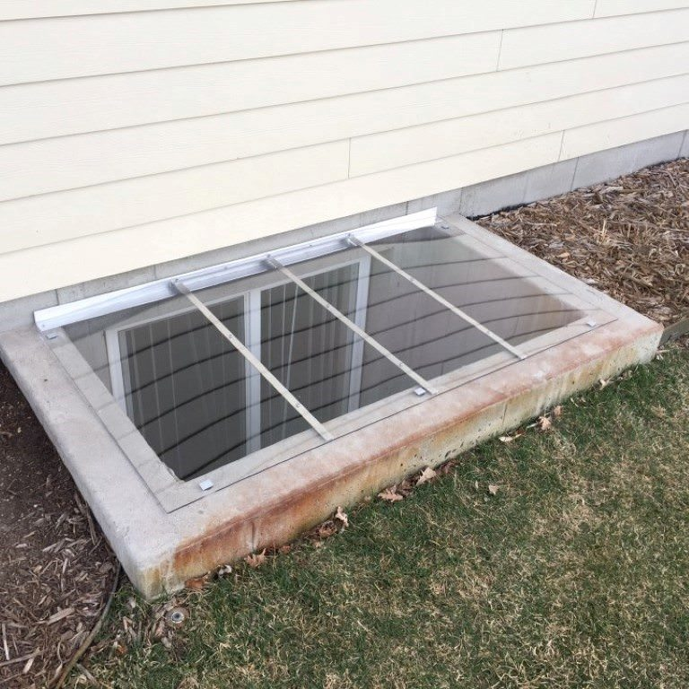Square Window Well Covers  Made to fit any rectangular shape