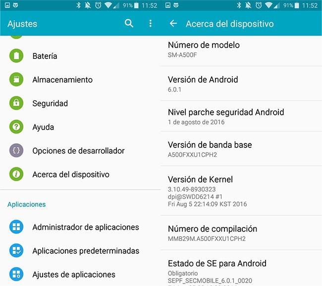 configuraciones android - Odin como flashear o revivir tu Samsung