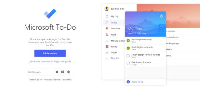 aplicacion to do - Microsoft lanza To Do app de listas muy útil