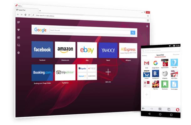 navegador opera - Los mejores Navegadores para PC con pocos recursos