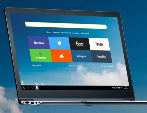 navegador yandex - Los mejores Navegadores para PC con pocos recursos