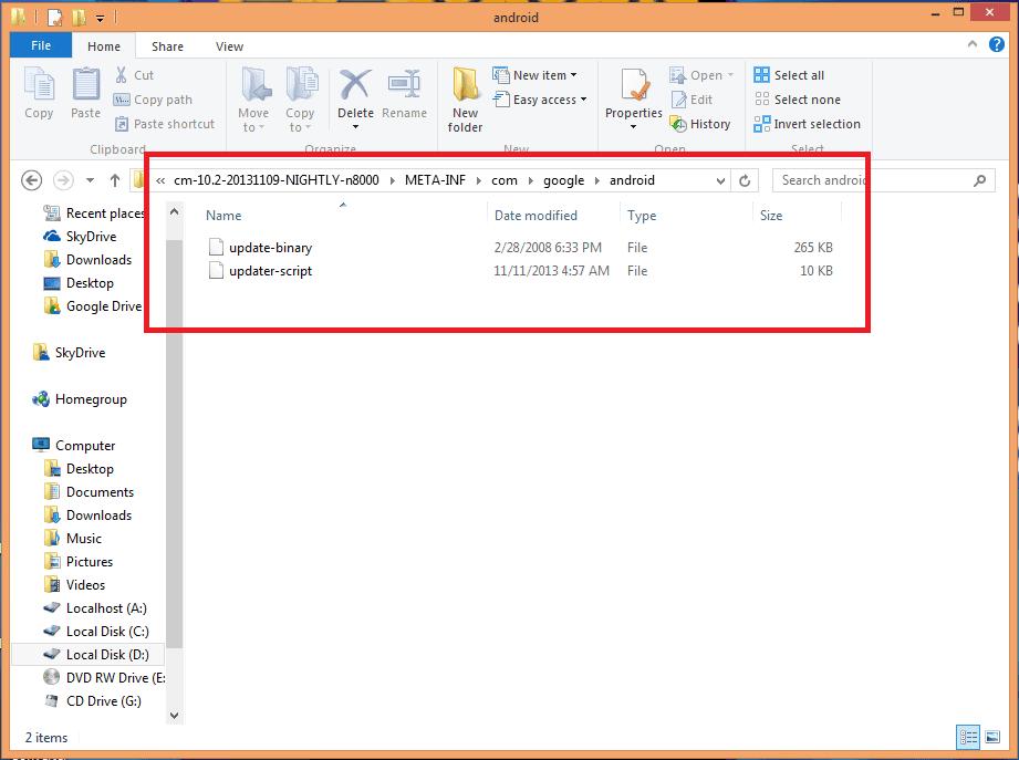 Archivos Error status 7