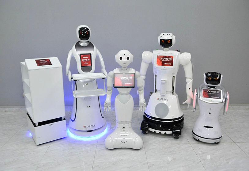 robots contra coronavirus Atalayar Robots Emiratos