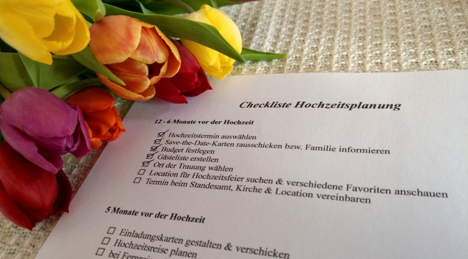 Checkliste fr die Hochzeitsplanung  Windrun