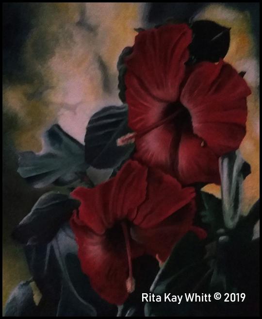 Acrylic Painting by Rita Kay Whitt aka WHITTnessForChrist 2014