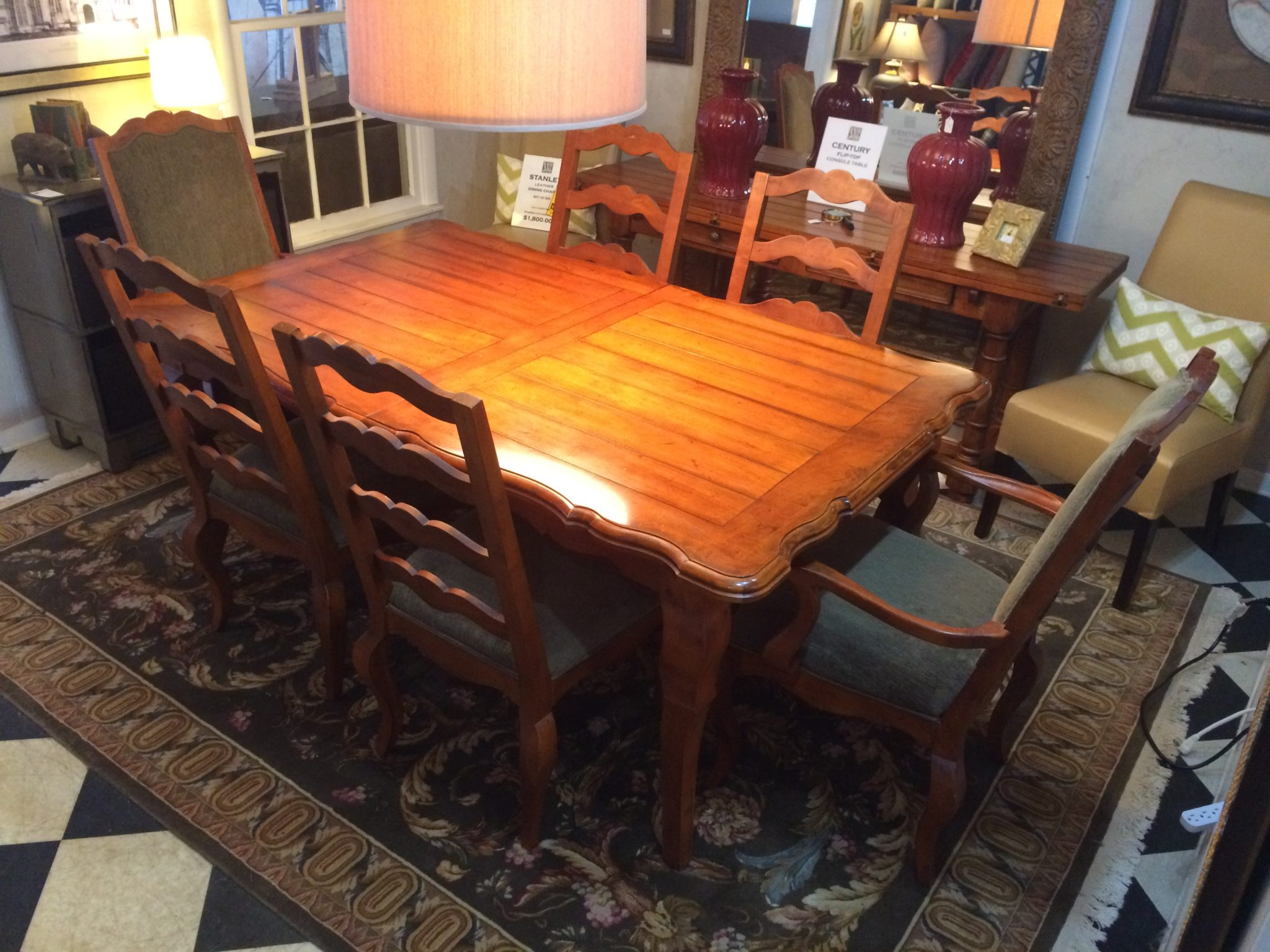 Country Dining Room Chairs Century French Country Dining Table With Six Chairs