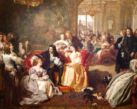 A classic painting that can be found in the art collection at Windsor Court Hotel