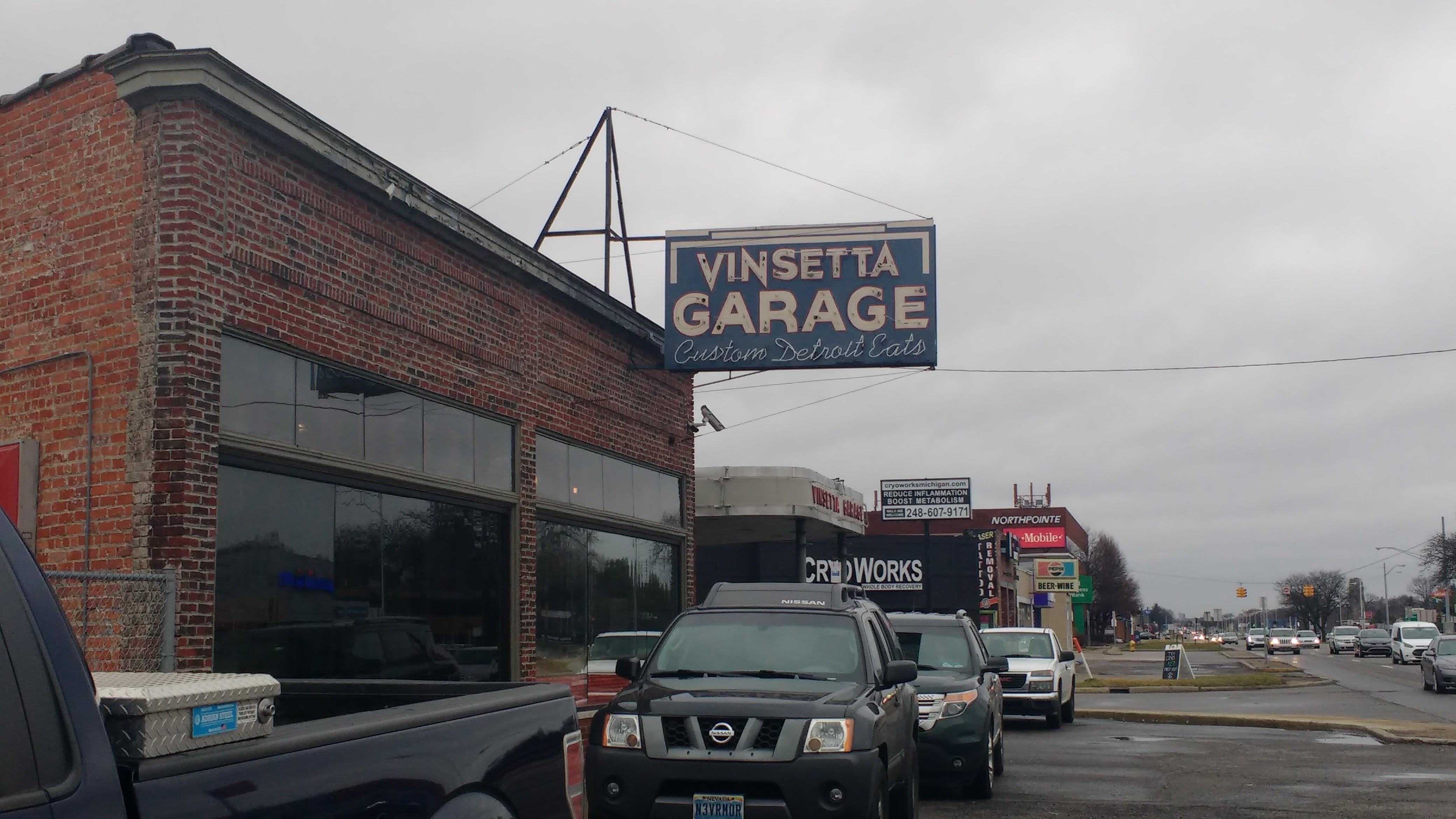 Vinsetta Garage  Royal Oak Michigan  WindsorDetroit