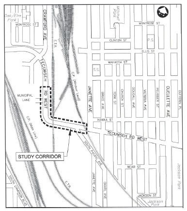 Study To Look At Improving Tecumseh Road West At Train