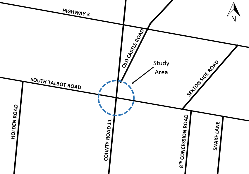 Roundabout Proposed For Tecumseh Intersection
