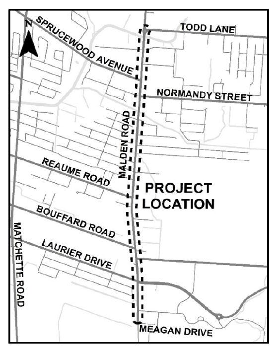 Malden Road Environmental Assessment Underway In LaSalle