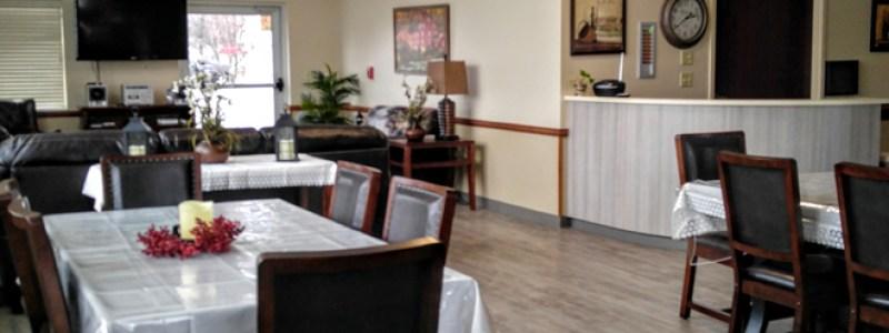 Dementia Alzheimer dining living room hall serenity lane windsor gibsonburg ohio