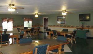 Central dining hall