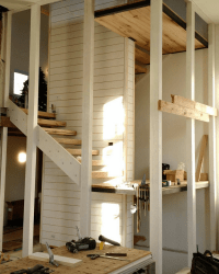 Modern & Rustic Stairs - WindsorONE