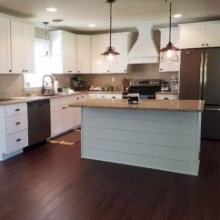 Industrial Kitchen Island Rustic Tables And Chairs Windsorone Shiplap On Time In Pennsylvania ...