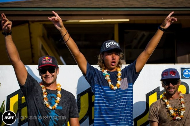 Bernd Roediger claims victory at the 2013 JP Aloha Classic
