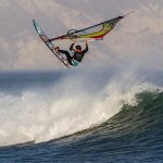 Casey Hauser testing the new XensrCase in Punta San Carlos