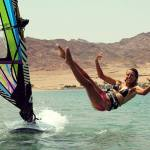 Katerina Savanchukwipeout with style in Dahab