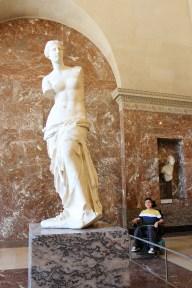 The famous Venus de Milo.