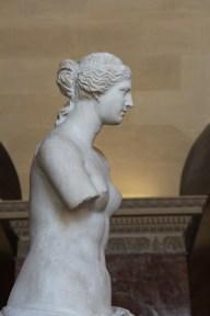 Profile shot of Venus.
