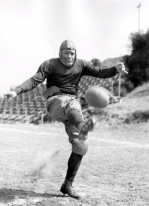 Knute Rockne of Notre Dame college.