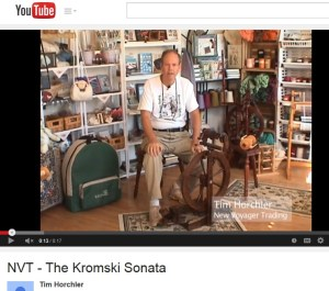 Tim Talks--about the Kromski Sonata