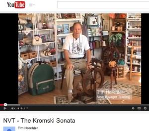 Tim Talks--about the Kromski Sonata