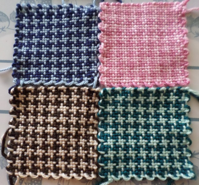 Houndstooth Check—Pin Loom Pattern—Part I – Windswept Mind