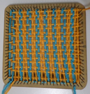 Weaving layer 1, complete.