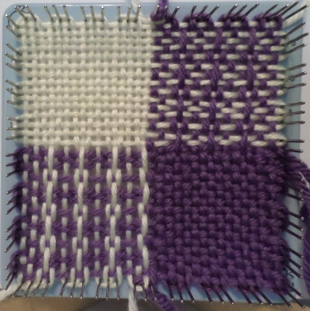 Scottish Stitch Variation Ipin Loom Weave It Pattern Windswept Mind