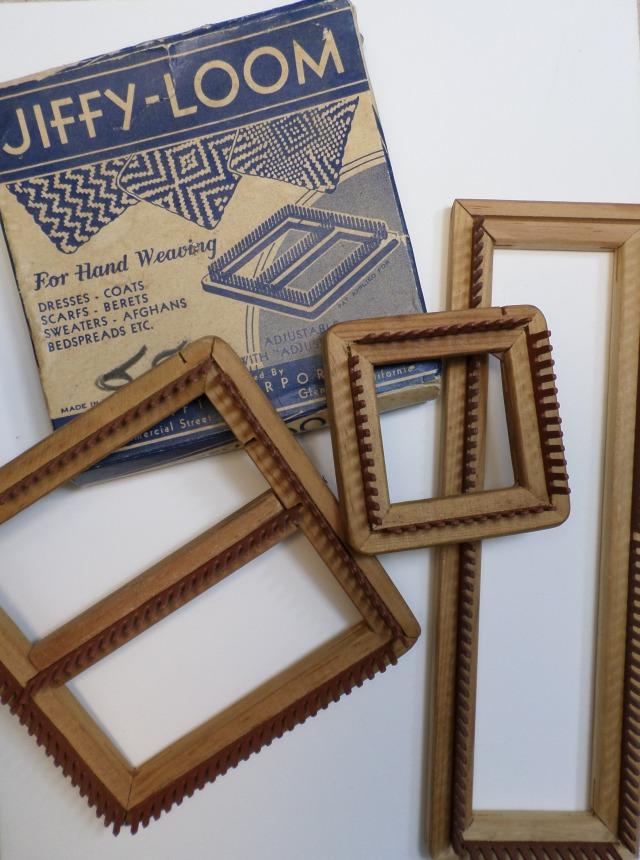 pin loom weaving instructions