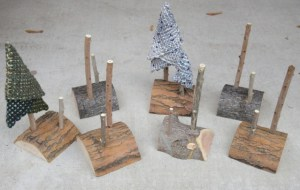Little tree stands.