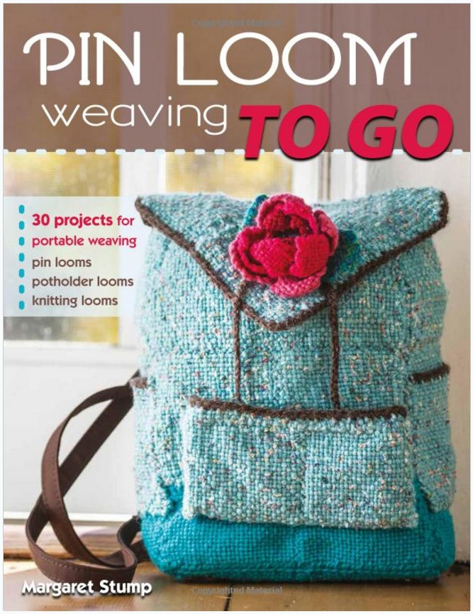 Pin Loom Weaving To Go Book Review Windswept Mind