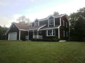 Our new home in Windham, ME. Estimated closing date Oct. 19th.