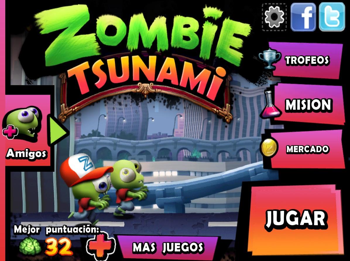 Zombie Tsunami Un Juego Que Te Garantizara Entretenimiento Por Un