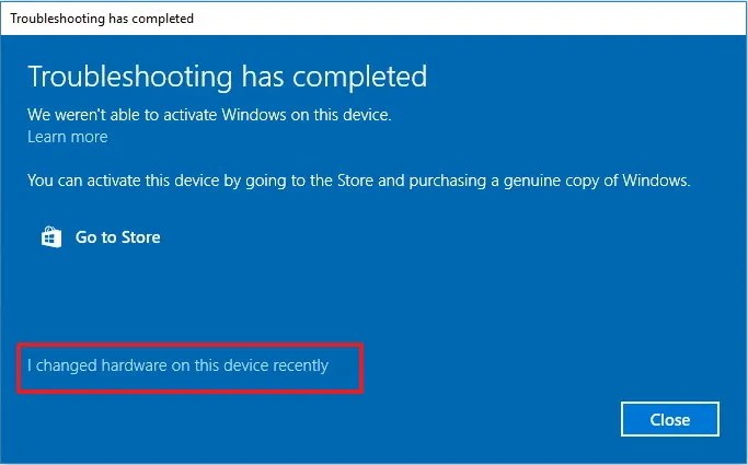 changed-hardware-recently-windows-10