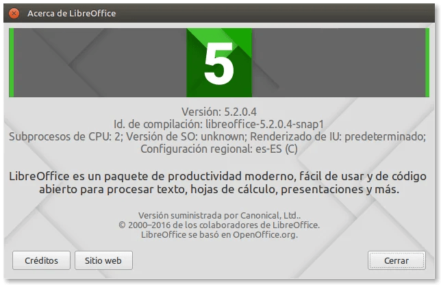 libreoffice-snap