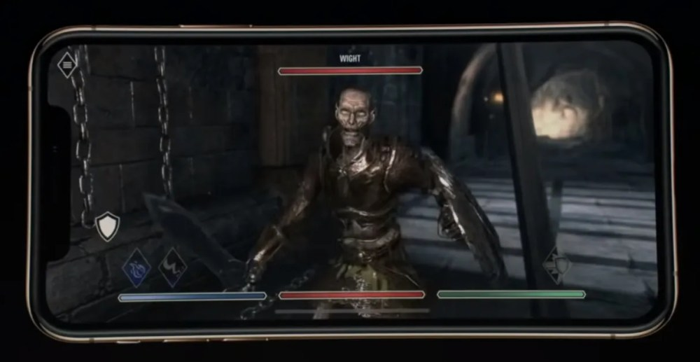 elder scroll iphone