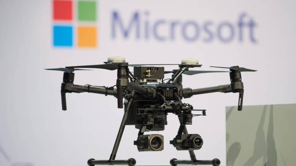 microsoft drones