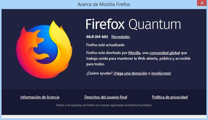 Firefox Quantum 66.0