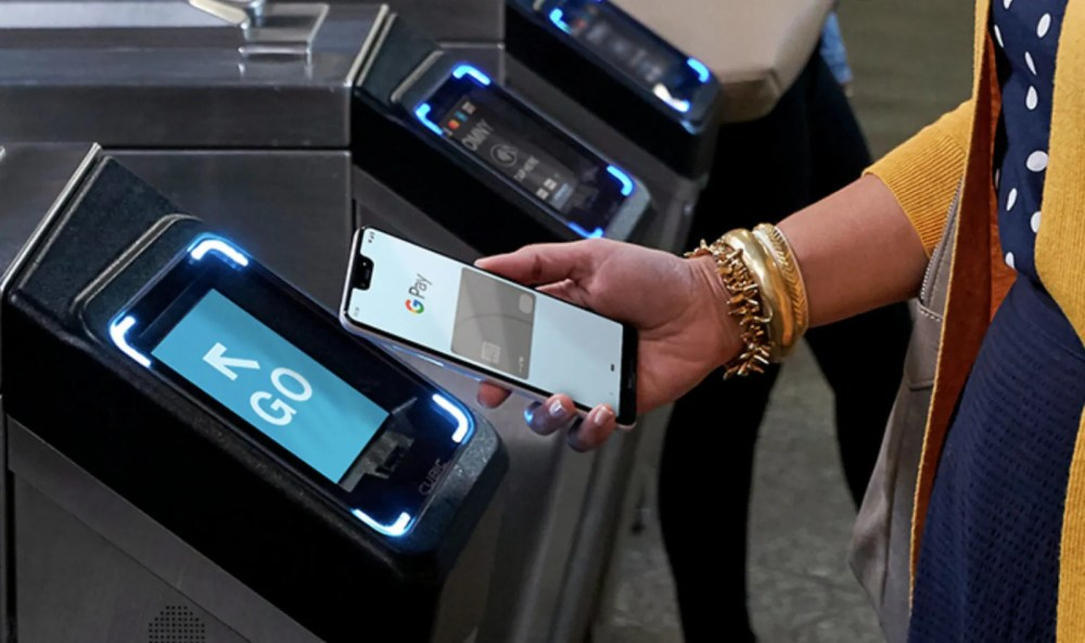 google pay mta