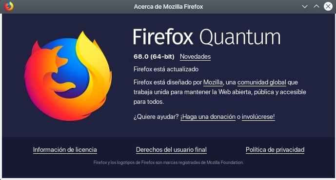 Firefox Quantum 68.0