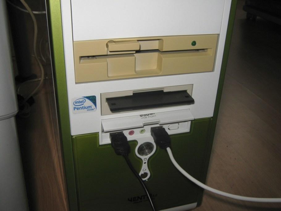 unidades floppy linux