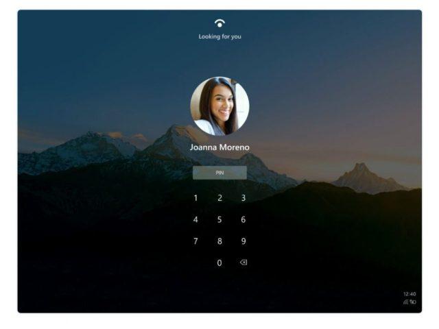 Windows 10 X conceptos pantallas sesion