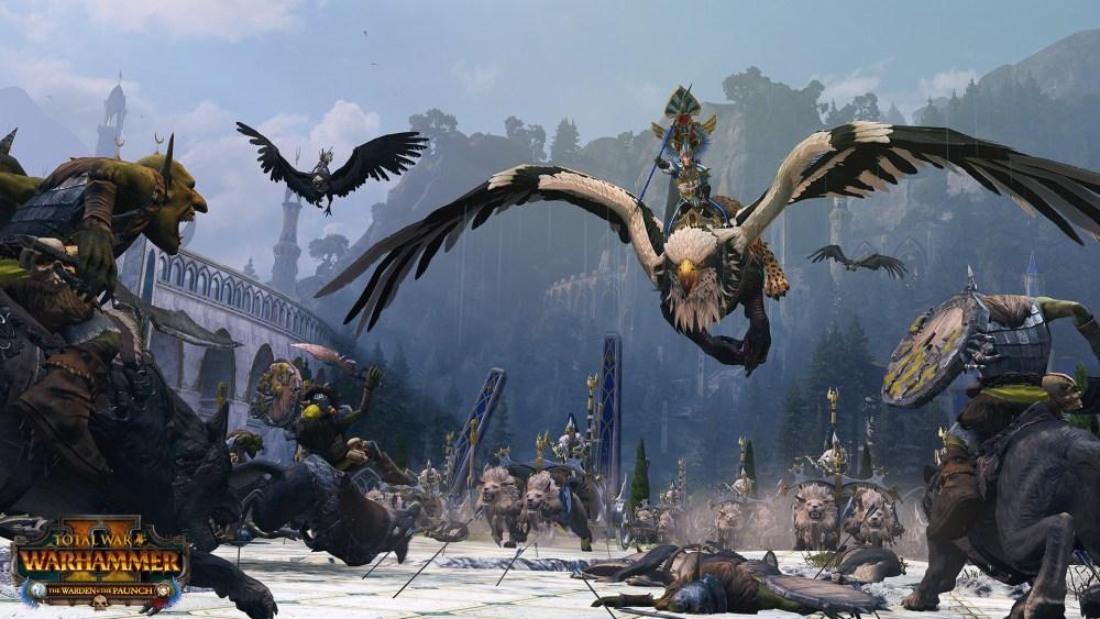facción altos elfos Warhammer II Warden Paunch
