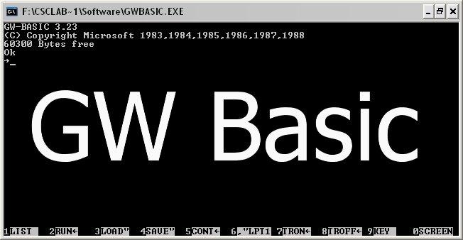 interprete GW-BASIC